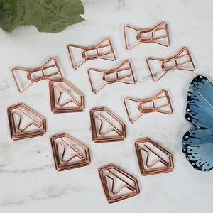 🆕️ Fashion Paper Clips  🎀Bow & 💎Diamond